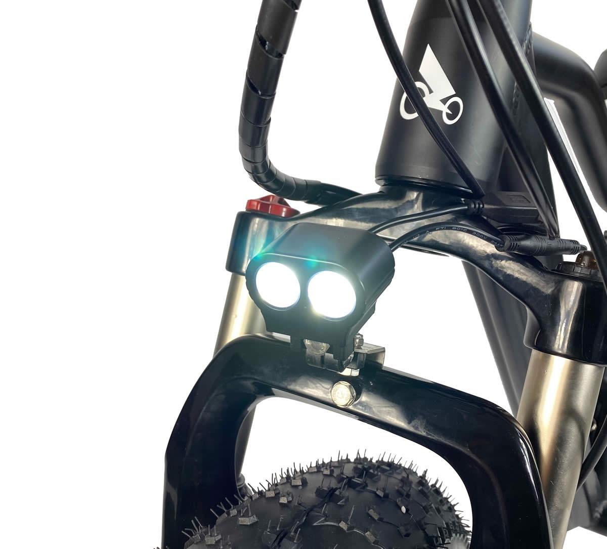 LED-lys, vandtæt ledningsføring og lockout-ophæng