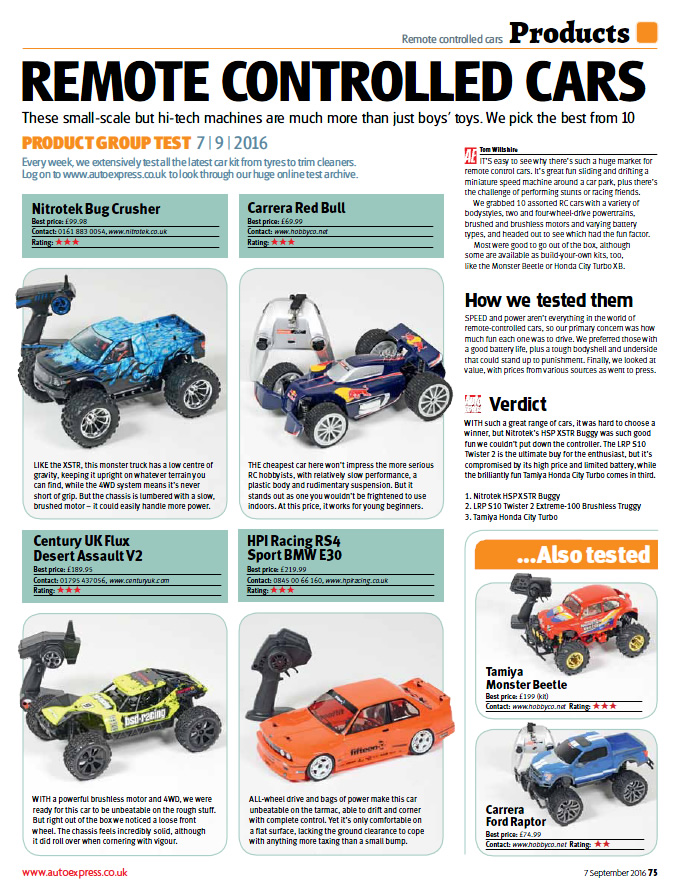 Auto Express Page 2